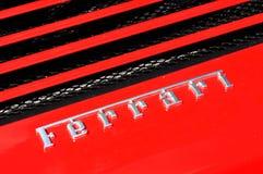 Detalle de Ferrari Fotografía de archivo