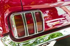 Detalle de Ford Mustang clásico Imagen de archivo