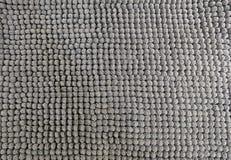Detalle de Gray Fluffy Fabric Texture Background Imágenes de archivo libres de regalías