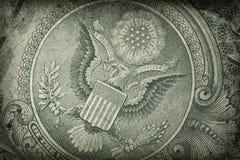 Detalle de Grunge dólar americano Imágenes de archivo libres de regalías