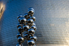 Detalle de Guggenheim Foto de archivo