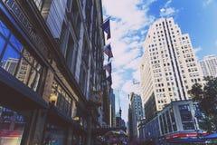 Detalle de Herald Square en Midtown Manhattan Fotos de archivo libres de regalías