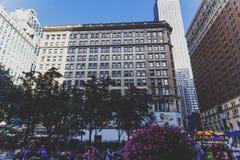 Detalle de Herald Square en Midtown Manhattan Imagen de archivo