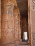 Detalle de jeroglíficos coloreados Fotografía de archivo