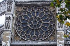 Detalle de la abadía de Westminster Fotos de archivo