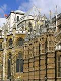 Detalle de la abadía de Westminster Imagen de archivo