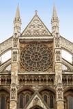 Detalle de la abadía de Westminster en Londres Imagenes de archivo