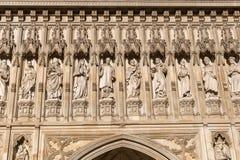 Detalle de la abadía de Westminster en Londres, Reino Unido Fotografía de archivo libre de regalías