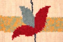 Detalle de la alfombra persa Imágenes de archivo libres de regalías