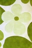 Detalle de la alfombra verde Fotografía de archivo