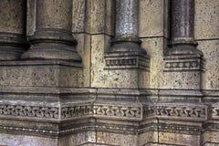 Detalle de la arquitectura de la basílica de Sacre Coeur fotos de archivo libres de regalías