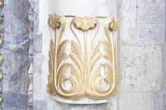 Detalle de la arquitectura de Seljuk imagenes de archivo