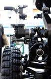 Detalle de la artillería del obús Foto de archivo libre de regalías