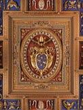 Detalle de la azotea de la iglesia de Jhon del santo fotos de archivo
