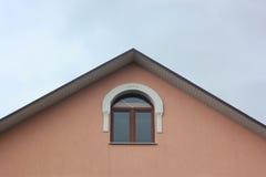 Detalle de la azotea de un edificio Fotos de archivo libres de regalías