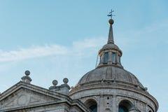 Detalle de la bóveda del monasterio de Escorial Fotos de archivo libres de regalías