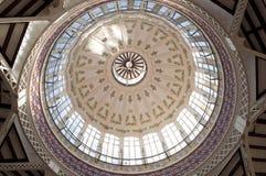 Detalle de la bóveda del techo Foto de archivo