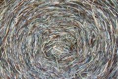 Detalle de la bala de heno Foto de archivo