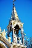 Detalle de la basílica del ` s de St Mark, Venecia, Italia fotografía de archivo