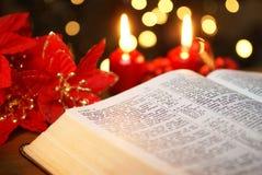 Detalle de la biblia Fotos de archivo libres de regalías