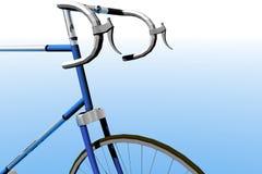 Detalle de la bici stock de ilustración
