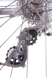 Detalle de la bici Imagen de archivo