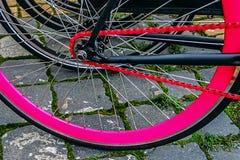 Detalle 3 de la bicicleta foto de archivo libre de regalías