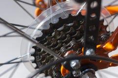Detalle de la bicicleta. Fotos de archivo