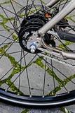 Detalle 9 de la bicicleta Imagen de archivo libre de regalías