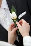 Detalle de la boda Foto de archivo libre de regalías
