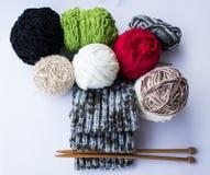 Detalle de la bufanda Imagen de archivo libre de regalías