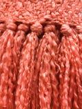 Detalle de la bufanda del invierno Fotos de archivo libres de regalías