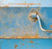 Detalle de la caja de herramientas del metal Fotografía de archivo