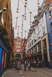 Detalle de la calle de Carnaby en centro de ciudad de Londres Fotos de archivo