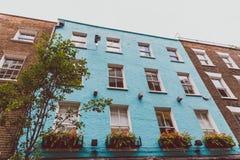 Detalle de la calle de Carnaby en centro de ciudad de Londres Fotos de archivo libres de regalías