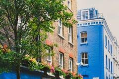 Detalle de la calle de Carnaby en centro de ciudad de Londres Foto de archivo libre de regalías