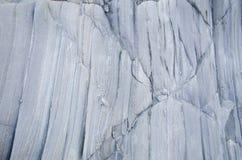 Detalle de la capa de la roca Imagen de archivo libre de regalías