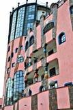 Detalle de la casa de Hundertwasser foto de archivo libre de regalías