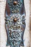 Detalle de la casa de Venecia fotografía de archivo