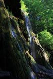 Detalle de la cascada de Beusnita Imágenes de archivo libres de regalías