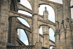Detalle de la catedral de los viajes Imagenes de archivo