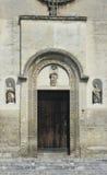 Detalle de la catedral de Matera, Italia imagen de archivo libre de regalías