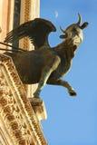 Detalle de la catedral de Orvieto, Umbría Fotos de archivo libres de regalías