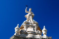 Detalle de la catedral de Palermo, Sicilia Imagenes de archivo