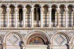 Detalle de la catedral de Pisa Fotografía de archivo libre de regalías