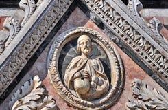 Detalle de la catedral de Siena fotos de archivo libres de regalías