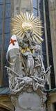 Detalle de la catedral de St Stephen Imágenes de archivo libres de regalías