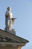Detalle de la catedral de Vilnius imagenes de archivo