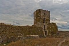 Detalle de la ciudadela de Heraclea imagenes de archivo
