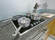 Detalle de la cocina Foto de archivo